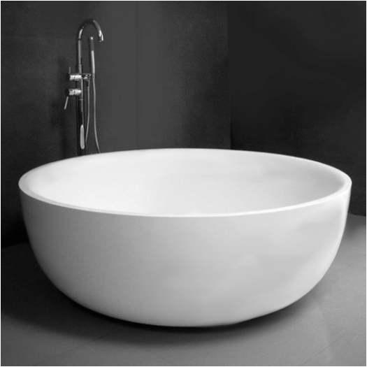 Small Round Bathtubs Australia Moda Carmel Thick Freestanding Stone Bath 50mm Thick Cast
