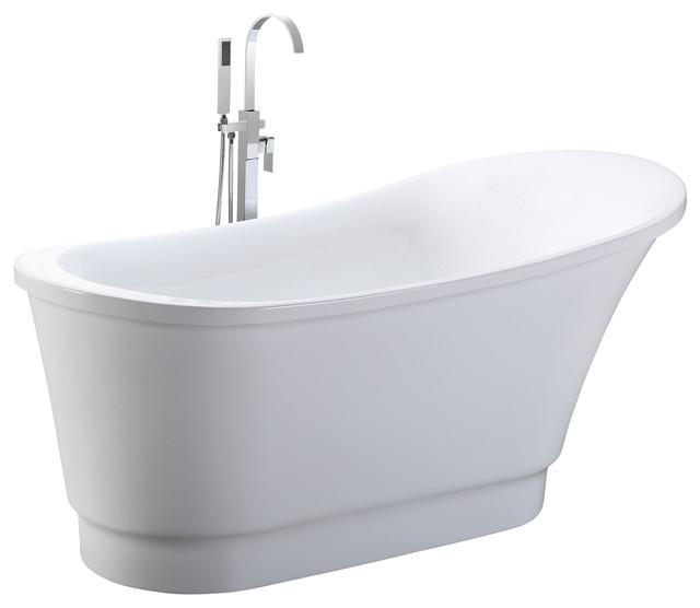 Small Round Bathtubs Uk Helixbath Olympia Freestanding Acrylic soaking Bathtub 67
