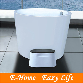 Small Round Bathtubs Very Small Round Deep Bathtubs Freestanding with Step