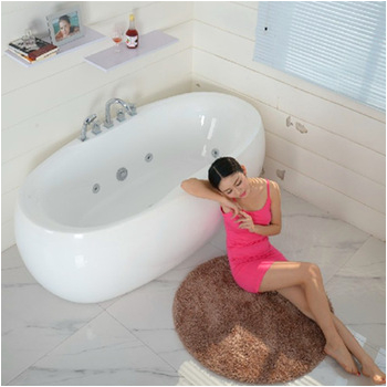 hot sale small freestanding bathtub bo