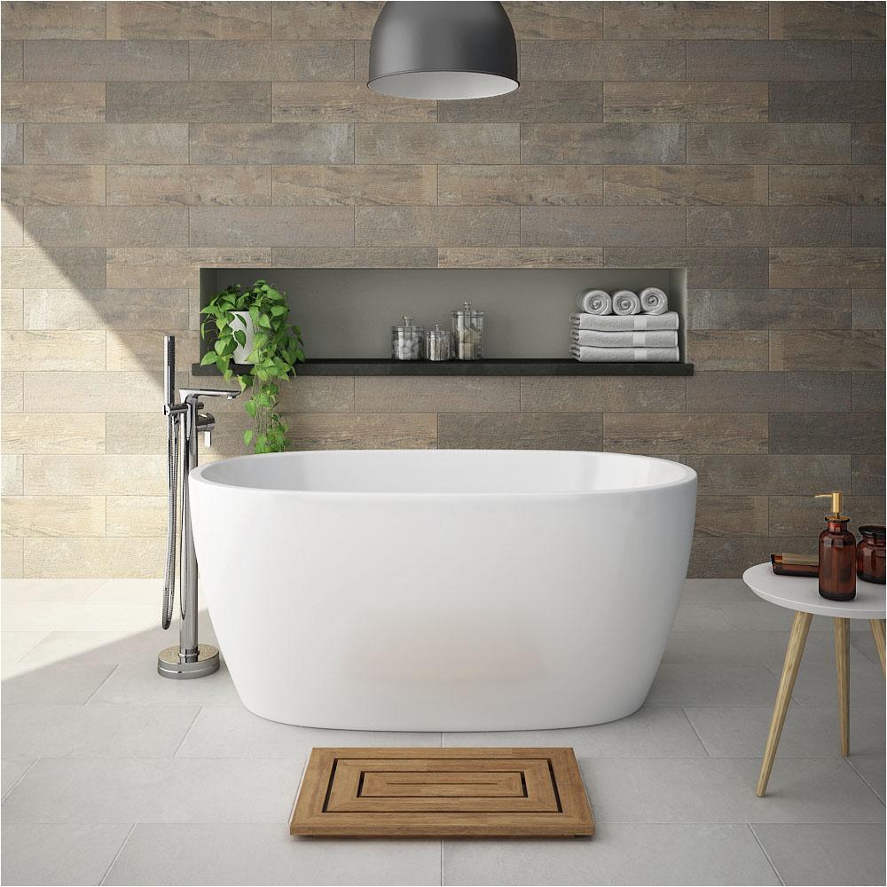 Smallest Freestanding Bathtub Snowden 1300 Small Modern Freestanding Bath