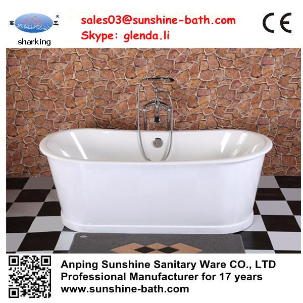 Chinese deep soaking tubs cheap cast