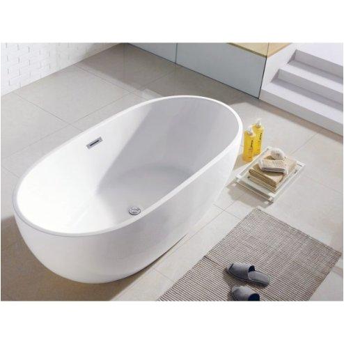 standard size soaking tub