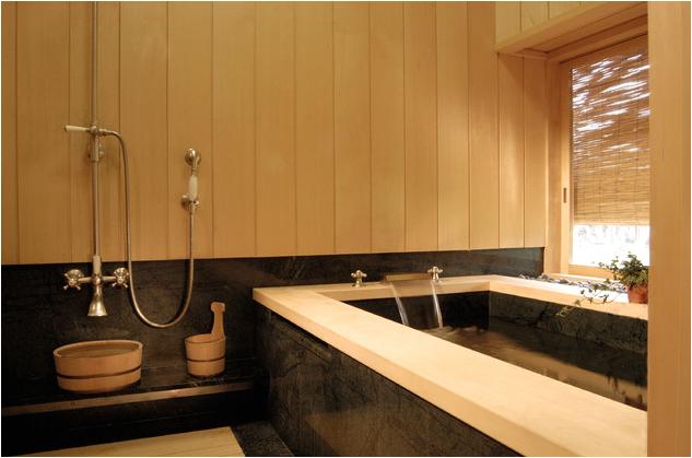 japanese small bathroom design shower