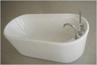 GreenGoods Bath Factory 55 Inch Acrylic Free Standing Soaking Tub bathtubs