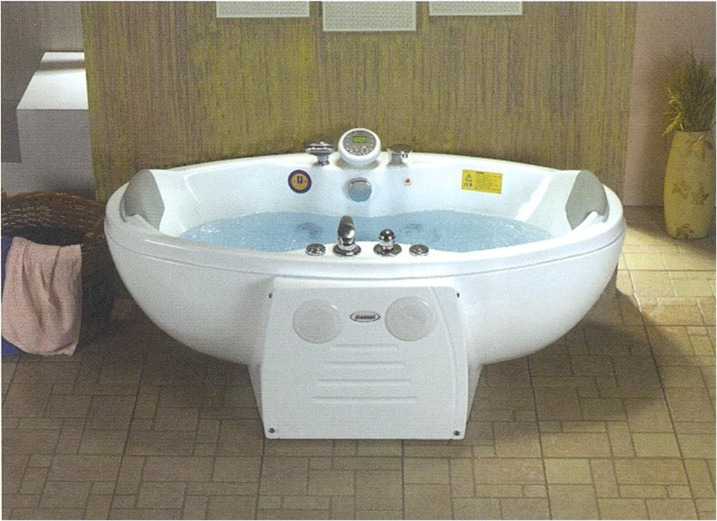 stand alone whirlpool tub