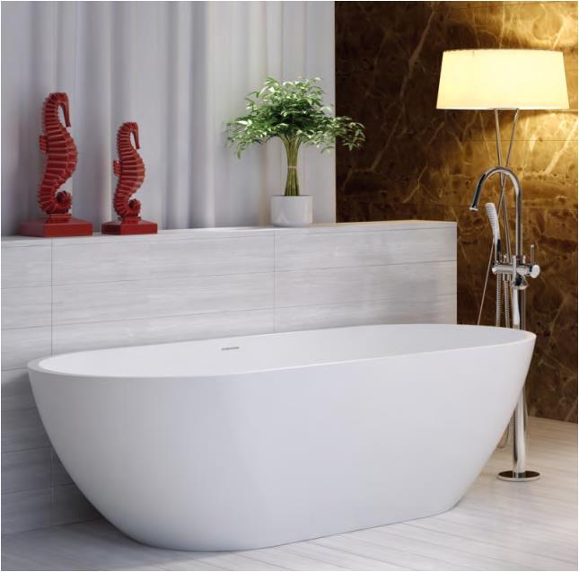 bts17b free standing bathtub