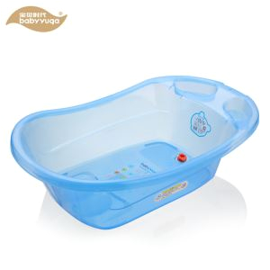 big plastic free standing baby bathtub
