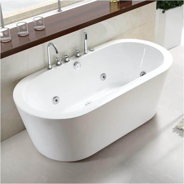 71 inch acrylic freestanding soaking tub