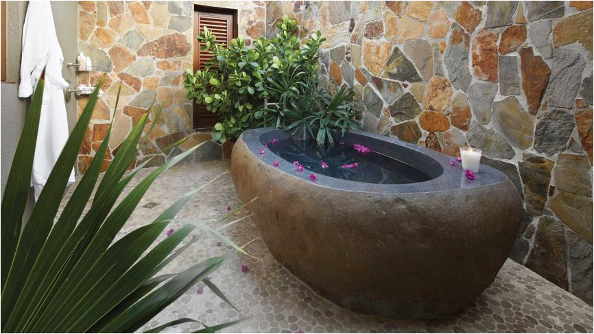 bathroom decor 8 bathtub designs inspired natural stone textures