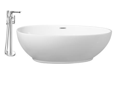 Streamline Freestanding Bathtub Streamline Nh380 120 Faucet and Tub Set with 63