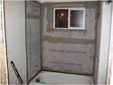 Surround Bathtub Installation Price Re Tiling Install Tub Surround Backerboard