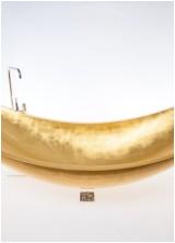 soak in the gold vessel hammock bath tub