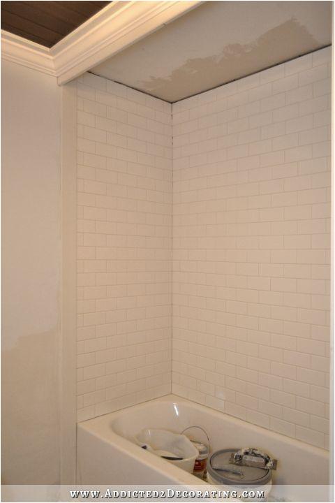 Tile for Bathtub Surround Subway Tile Bathtub Surround Addicted 2 Decorating