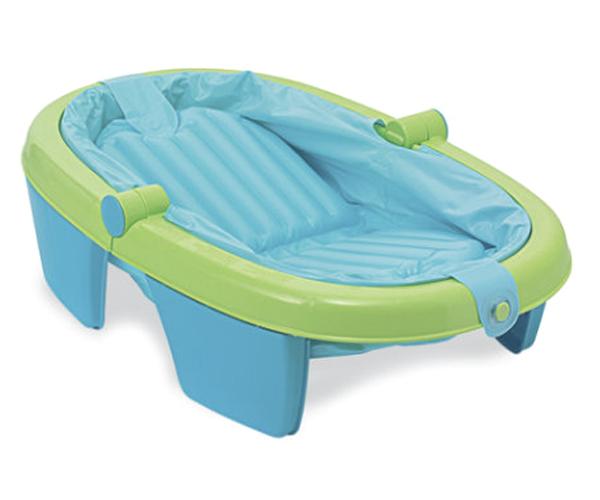 Travel Baby Bathtub Summer Infant Newborn to toddler Fold Away Baby Bath Child