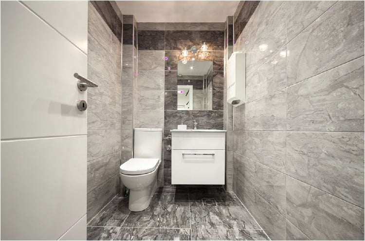 Types Of Bathtub In India 4 Best Bathroom Flooring Options for Indian Homes