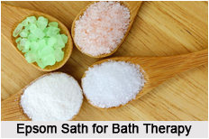 types bath therapy