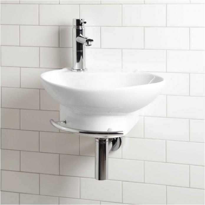 types of bathroom sink materials