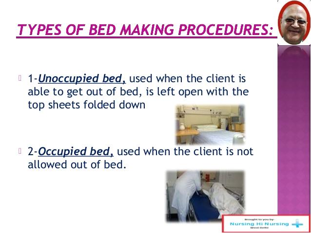 Types Of Bed Bath Nursing Bed Making In Nursing