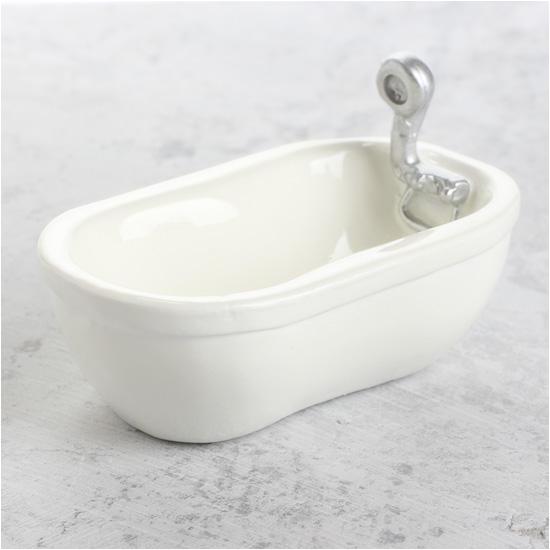 Types Of Mini Bathtub Miniature Porcelain Look Bathtub What S New Dollhouse
