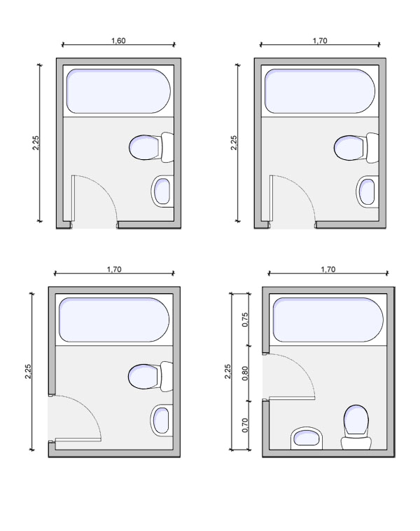 1241 type of bathrooms