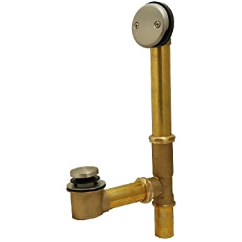 Types Of Old Bathtub Drains Bathtub Drain Waste and Overflow Tip toe Type Satin