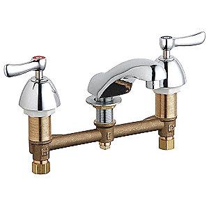 CHICAGO FAUCETS Brass Bathroom Faucet 26Y227