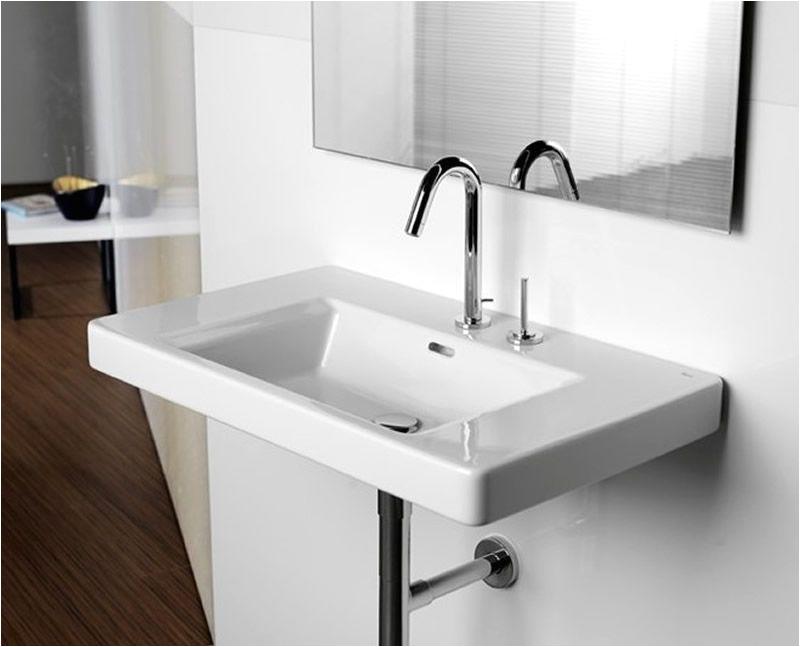 Uk Bathrooms.com Roca Khroma Wall Hung Basin From