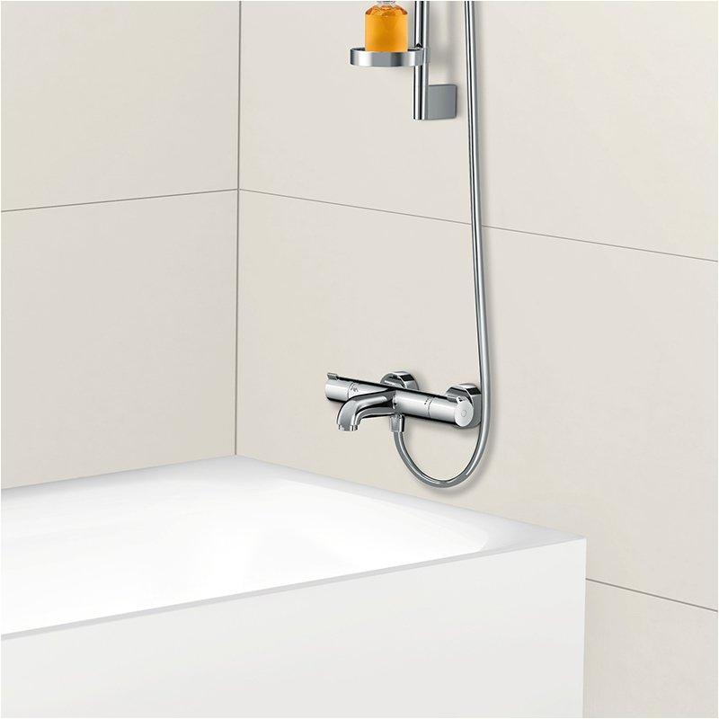 Uk Bathrooms Hansgrohe Hansgrohe Ecostat Bath & Shower Mixer thermostatic