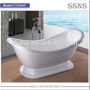 Freestanding Used Two Sided Bathtub Big