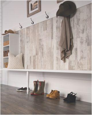laminate floors on walls