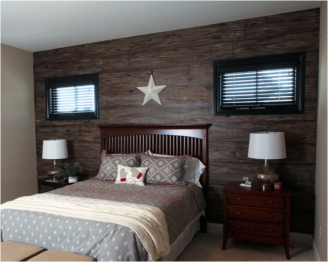 Rustic Guest Bedroom rustic bedroom dublin