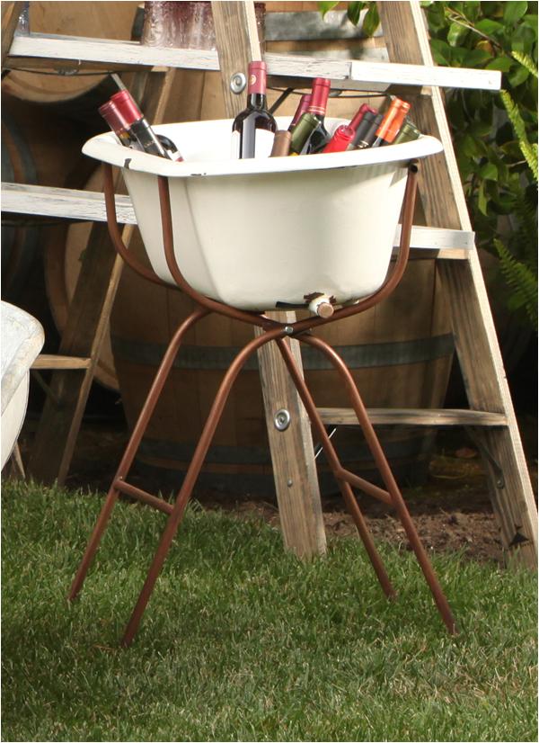 vintage baby bath tub floor stand