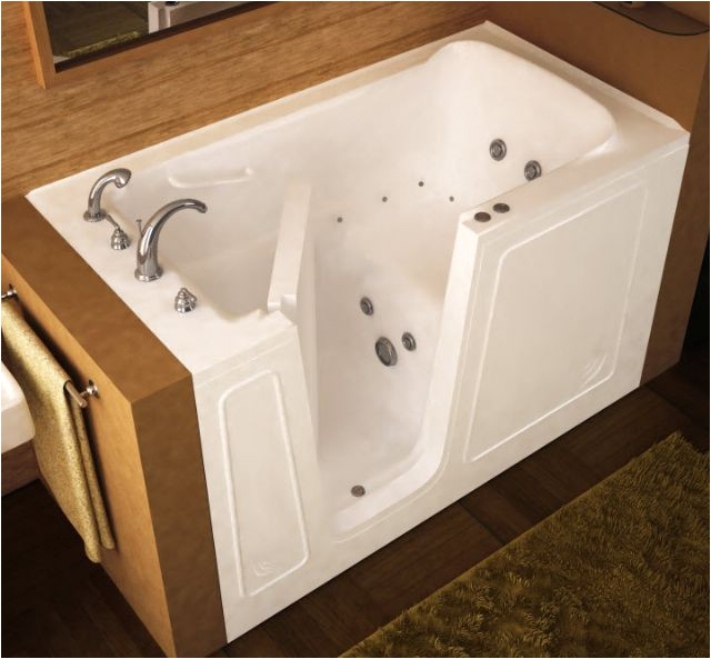 side access bathing systems