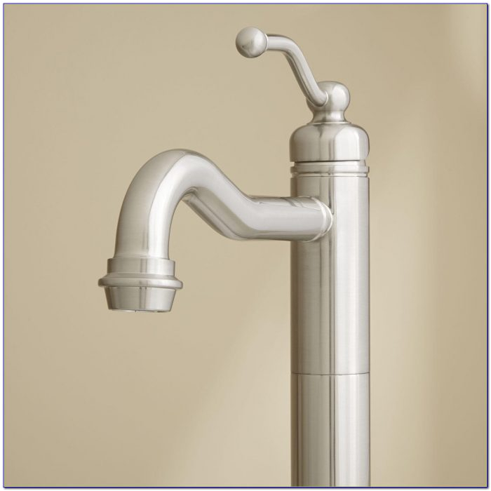 wall mounted taps for freestanding baths