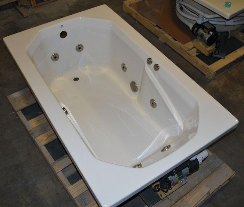Water Jet Whirlpool Bathtub 3660 Drop In Whirlpool Jetted Bath Tub 8 Water Jets
