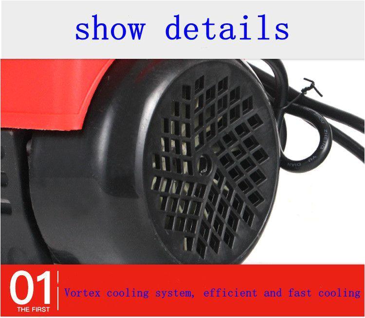 Watts Floor Drains Energieeinsparung Strom Sparen1600 Watt Haushalts Induktionsmotor Hochspannungs Reinigungsmaschine