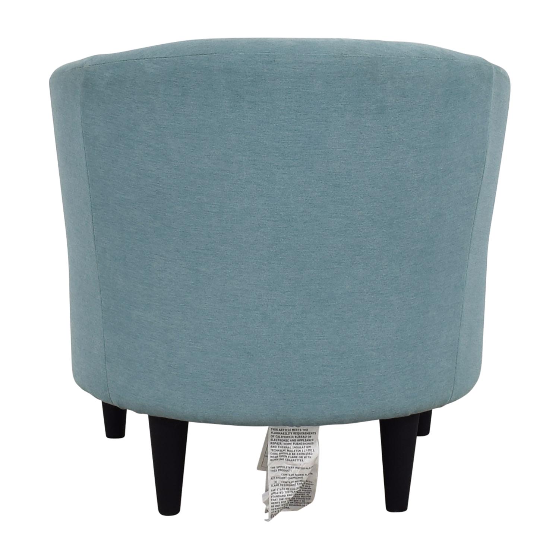 wayfair wayfair sky blue accent chair