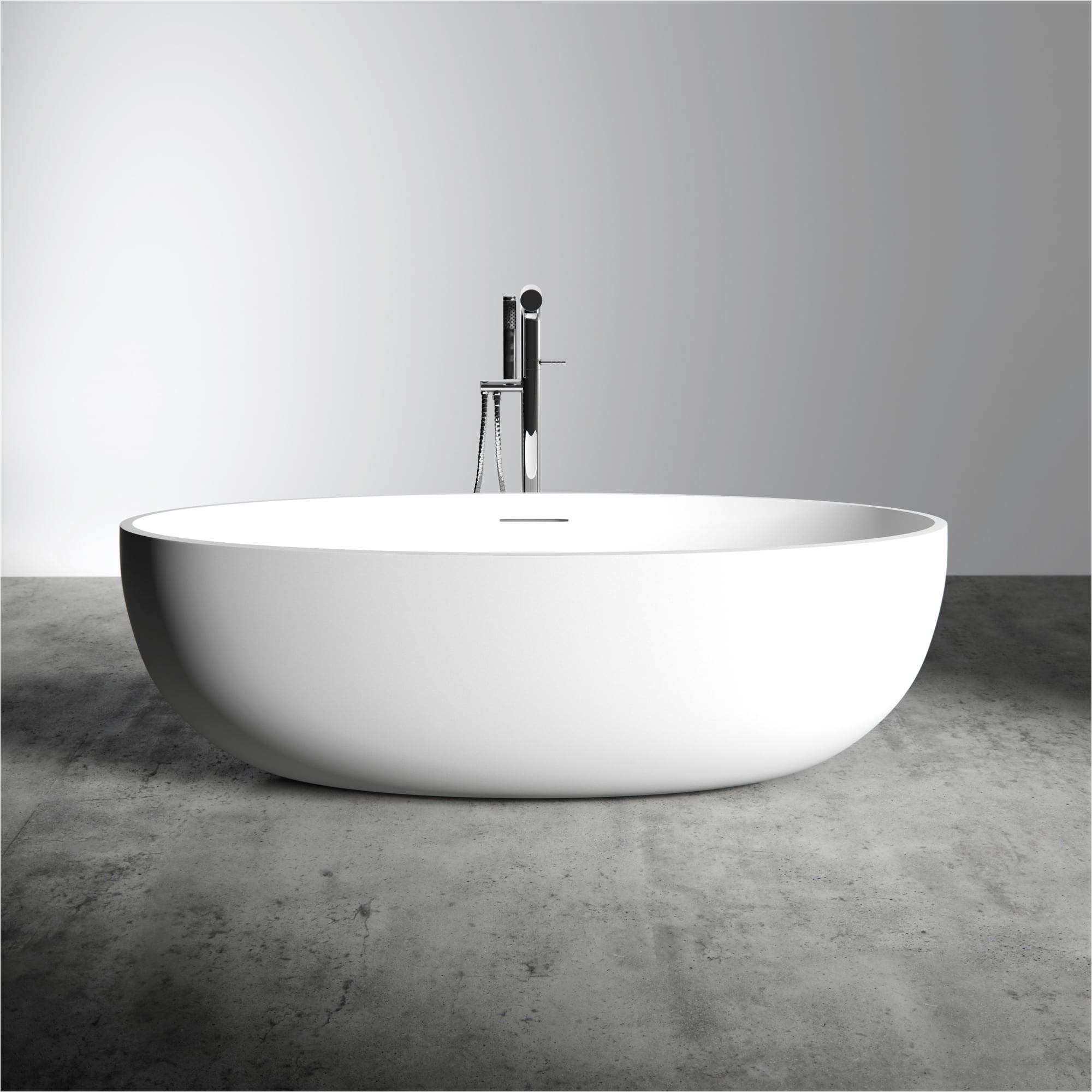lusso stone morini stone resin solid surface freestanding bath 1700 p615