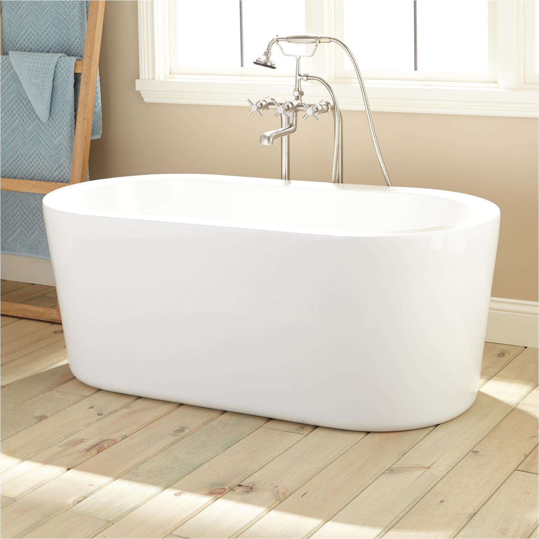 51 boone acrylic freestanding tub