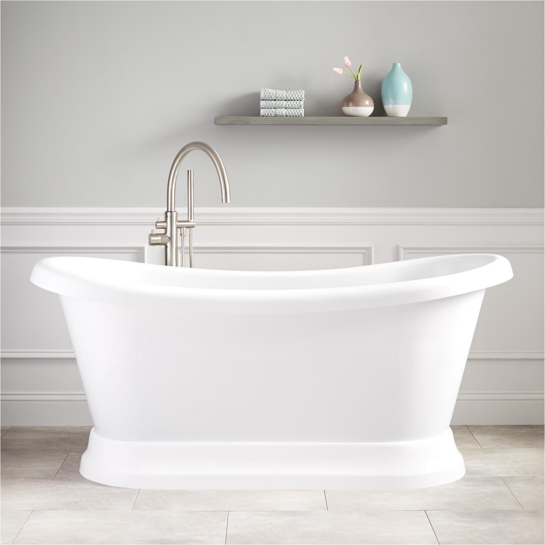 65 stanek acrylic freestanding tub