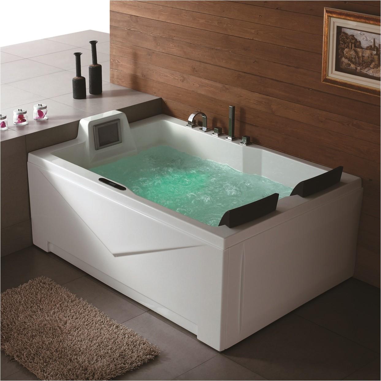 Which Bathtubs Luxury Putnam Luxury Massage Tub