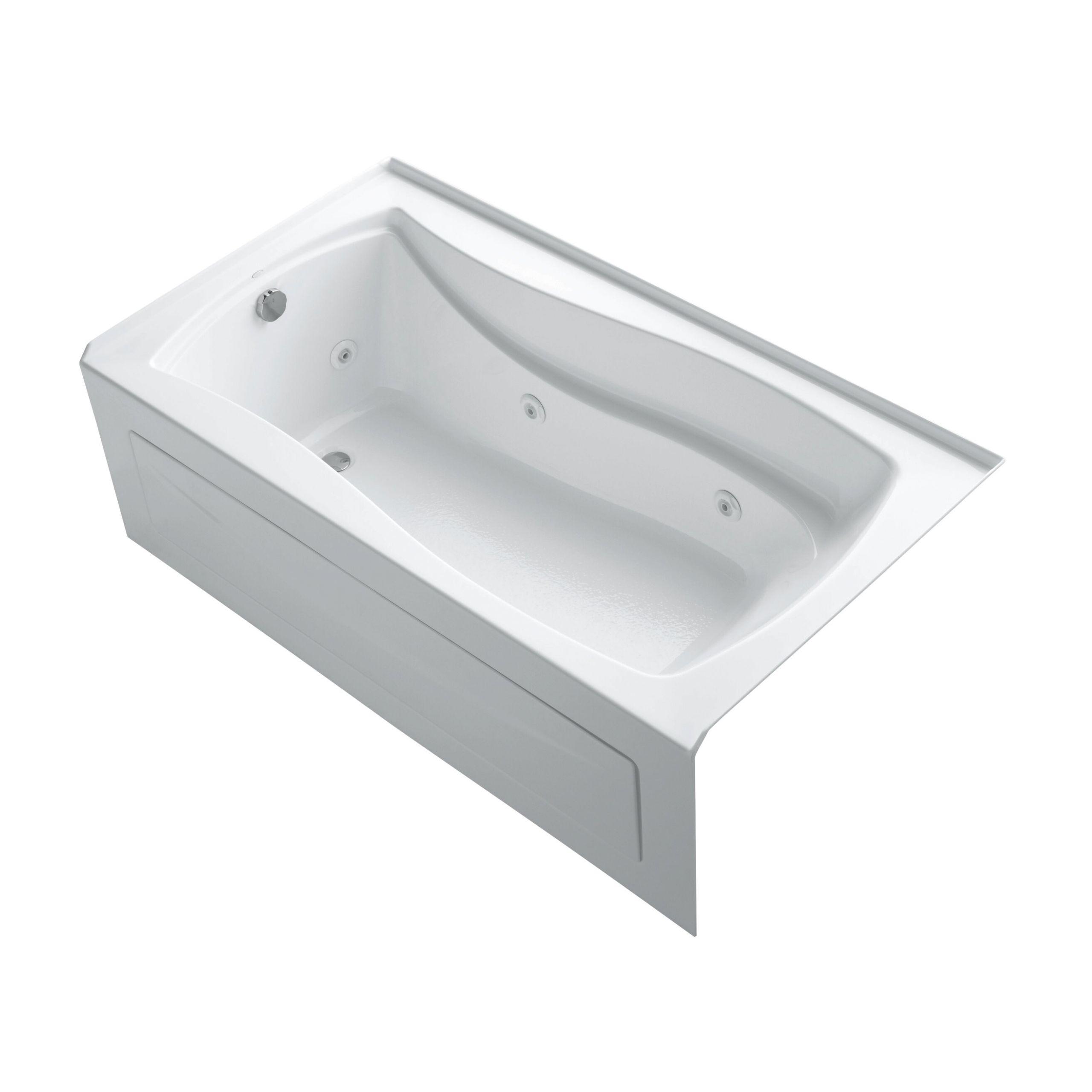 "Whirlpool Bathtub 66 X 36 Kohler Mariposa 66"" X 36"" Whirlpool Bathtub"