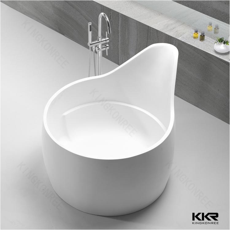 Whirlpool Bathtub Australia solid Surface Japanese soaking Tub Pure White Cheap