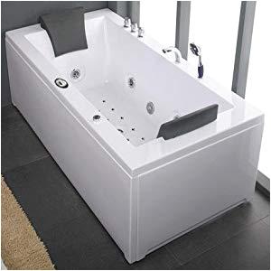 Whirlpool Bathtub Double Size Alaska 6 Foot Double Ended Whirlpool Bath Luxury Inset 22