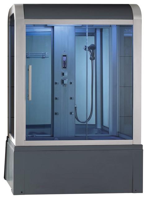 Eagle Bath WS 501 Steam Shower Enclosure w Whirlpool Bathtub bo Unit contemporary steam showers