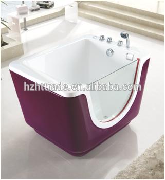 Baby whirlpool massage standing bathtub bath