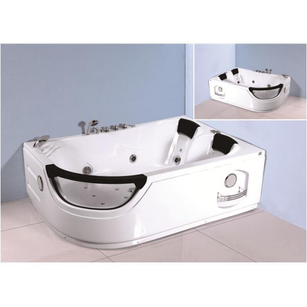 Whirlpool Bathtub for Sale Jacuzzi Bubble Bath Jetted Corner Whirlpool Bathtub with