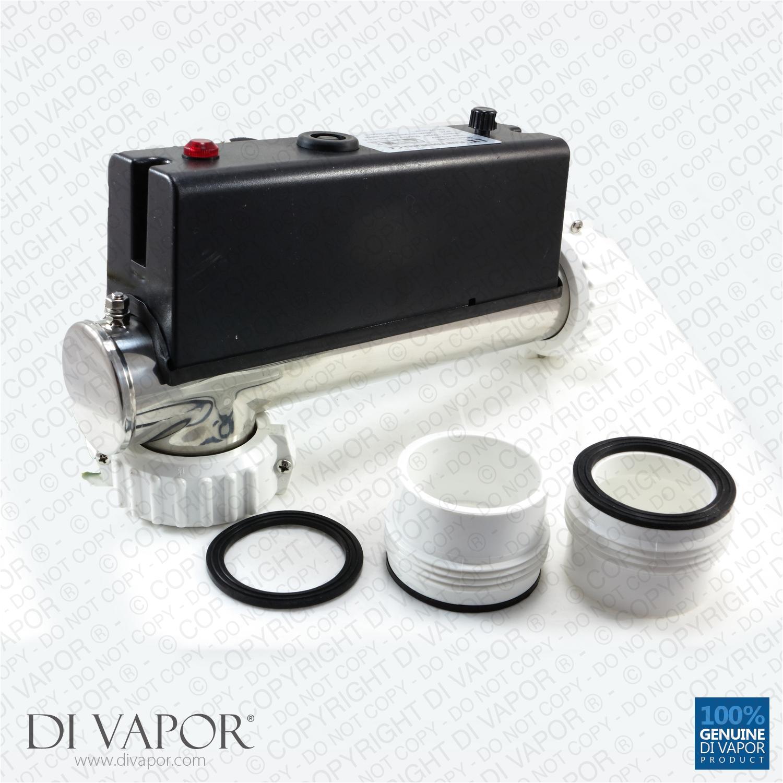lx h15 r2 water heater 1500w 15kw l shape hot tub spa whirlpool bath flow type heater 230v 50hz