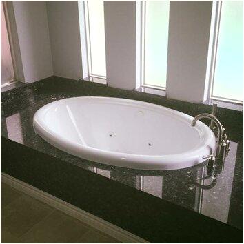 american acrylic 58 x 39 drop in whirlpool tub br 20w xcx1017